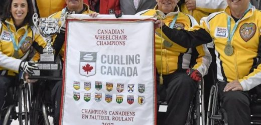 Wheelchair curling champion initially turned down opportunity to learn the sport