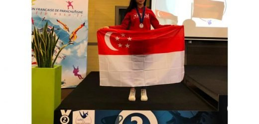 Indoor skydiving: Kyra Poh clinches silver at FAI World Indoor Skydiving Championships