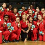 England's Vitality Roses head coach Tracey Neville recalls her Commonwealth Games gold celebrations, a year on