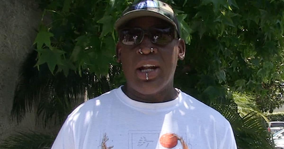 Dennis Rodman Denies Slapping Man, Says 'Nothing Happened'