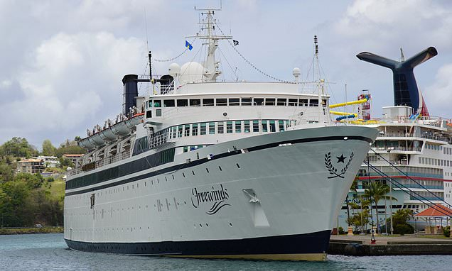 Scientology ship quarantined after crew contracts measles sets sail