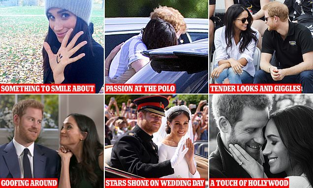The story of Harry and Meghan's whirlwind transatlantic romance