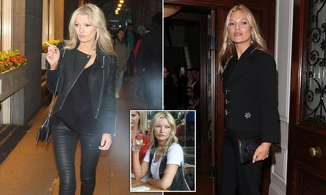 Kate Moss lookalike who is regularly mistaken for the supermodel