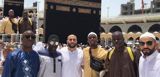 Man United star Paul Pogba visits Mecca during Ramadan