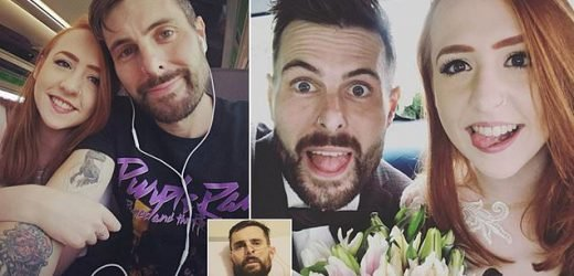 Bride reveals she watched husband die just 16 DAYS after their wedding