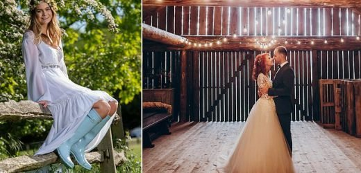 Number of wedding ceremonies in barns or farms doubled in five years