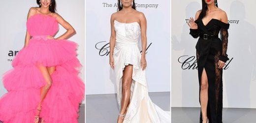 Kendall Jenner, Eva Longoria and Adriana Lima lead glam at amFAR Gala