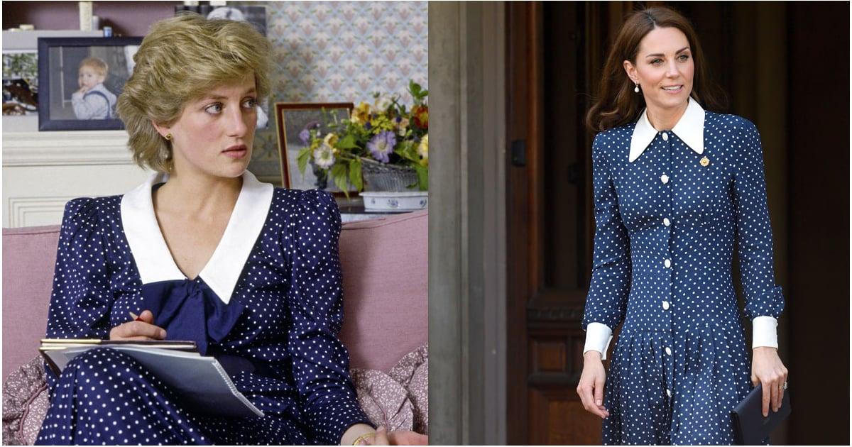 Kate Middleton's Polka-Dot Dress Could Be a Stylish Homage to Princess Diana