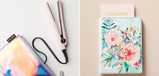 101 Travel Essentials From Anthropologie That Are Too Pretty to Pass Up — See Ya at the Airport!