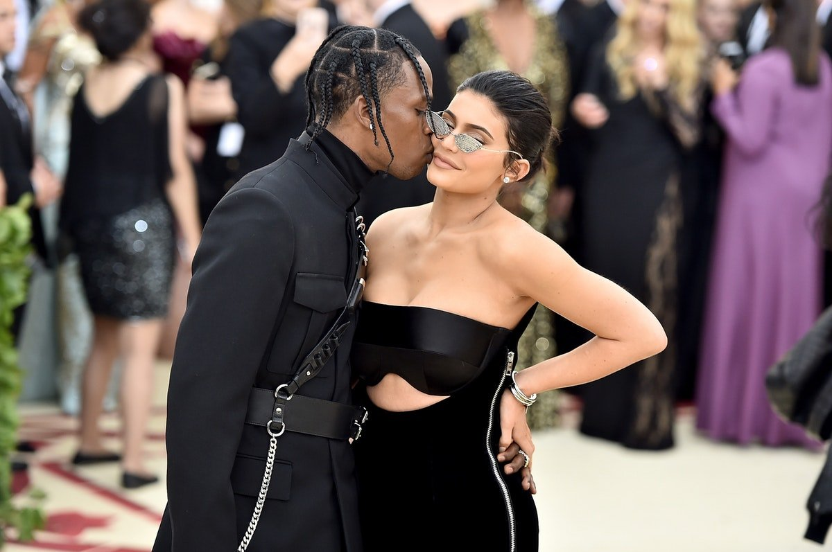 Uh, Kylie Jenner Threw Travis Scott A Gas Station-Themed Party & You Need To See Pics