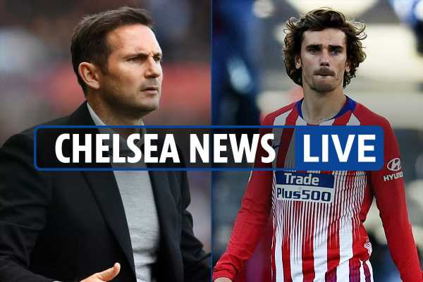 5.15pm Chelsea transfer news LIVE: Lampard eyed as Sarri replacement, Griezmann wanted, Cavani and Coutinho linked