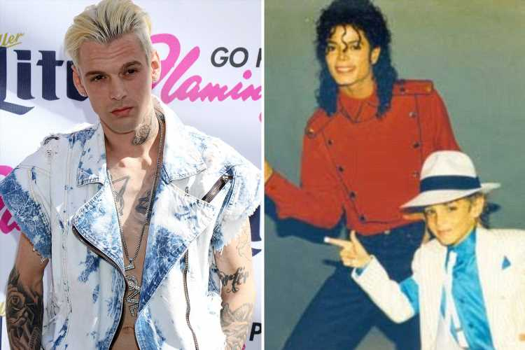 Singer Aaron Carter reveals Michael Jackson was once 'inappropriate' with him as a child but insists 'paedo' star was still a 'really good guy' – The Sun