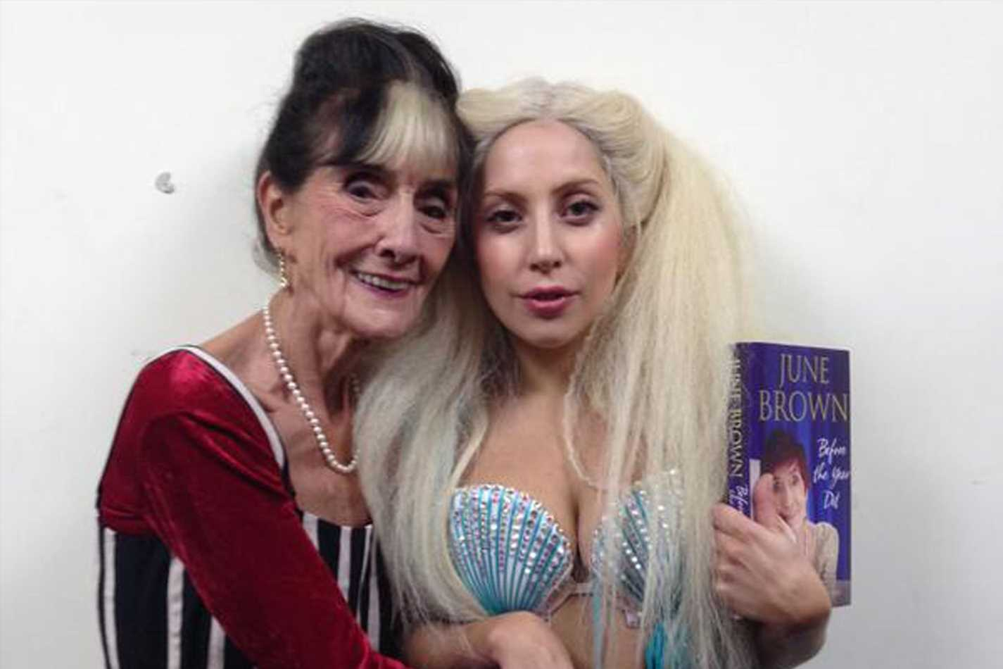 From Lady Gaga and June Brown to Helen Mirren and Russell Brand, we reveal the most unlikely celebrity friendships