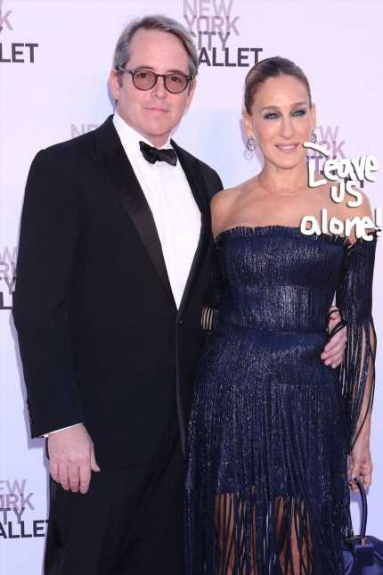 Sarah Jessica Parker BLASTS Tabloid For Fabricating 'Disgraceful Nonsense' About Her Marriage To M