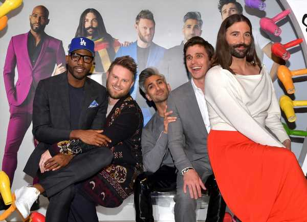 Watch The 'Queer Eye' Cast's Fab Cameo In Jonathan Van Ness' Final 'Game Of Thrones' Recap