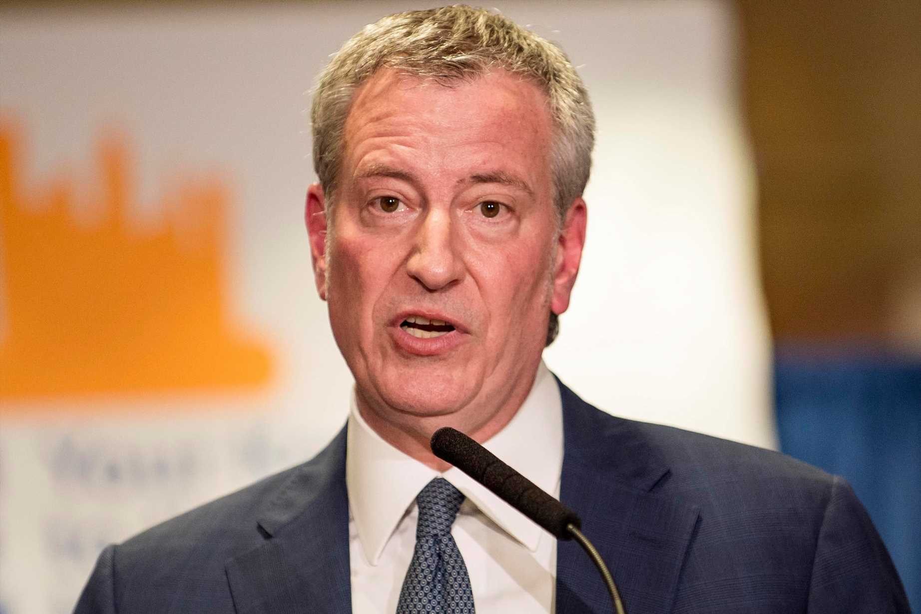 Bill de Blasio officially launches 2020 presidential campaign