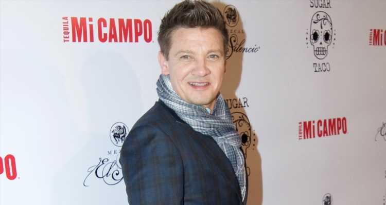 Jeremy Renner Shows His Style at Restaurant Opening in LA