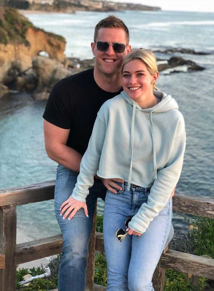 Houston Texans Star JJ Watt Is Engaged to Kealia Ohai: 'I'm the Luckiest Man in the World'