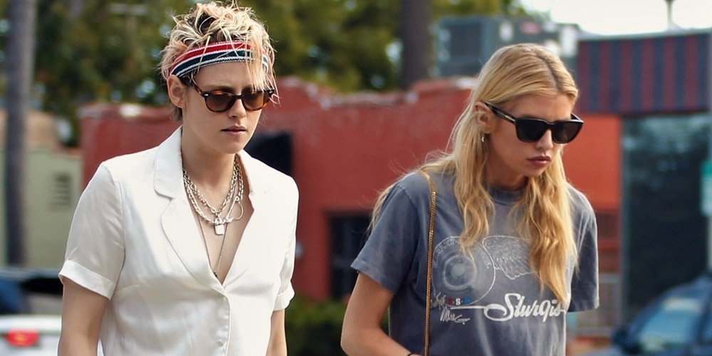 Kristen Stewart & Ex Stella Maxwell Spotted on Walk Together in LA