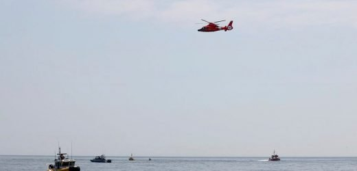 No sign of pilot who crashed in small plane off New Jersey