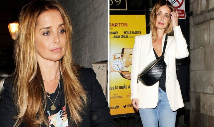 Louise Redknapp: 'Makes me cry' Star in tearful admission on Chris Evans Virgin Radio show