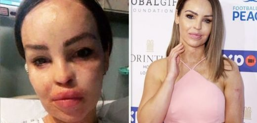 Katie Piper: Strictly star in hospital with 'bad infection' after 'ignoring symptoms'