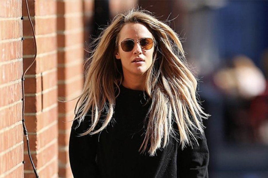 Caroline Flack accidentally exposes bum in non-existent miniskirt