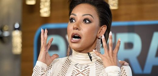 Mel B slams rumours of herpes eye infection after 'going blind'