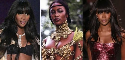 Birthday Girl Naomi Campbell's Hottest Runway Moments