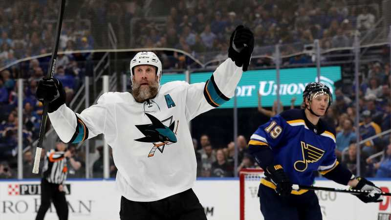 Don't Send Joe Thornton To The Old Folks Home Just Yet
