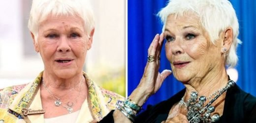 Judi Dench: 'I'd kill somebody' Star, 84, admits she no longer drives amid health issue