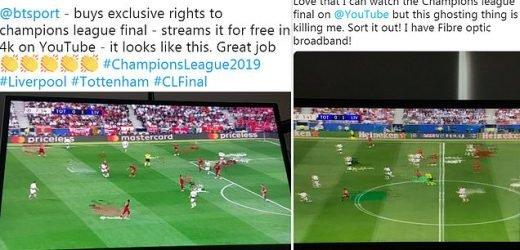 Fans watching Champions League final blast BT Sport's YouTube quality
