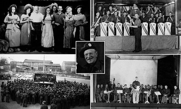 British POW known as Music Maker was forced to play for Nazi captors