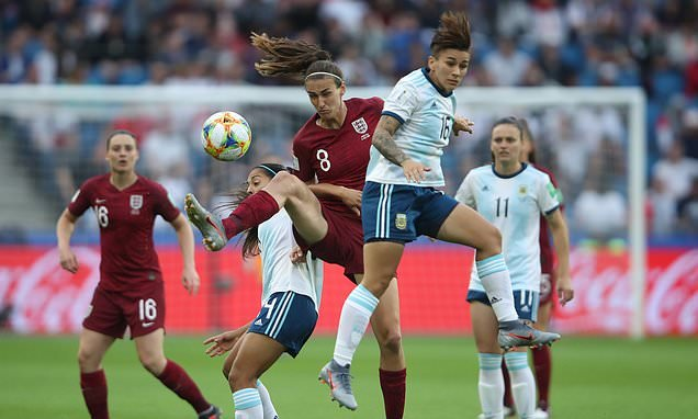 England v Argentina, LIVE: Lionesses pushing on at Women's World Cup