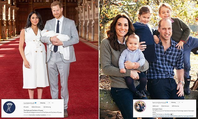 Prince Harry and Meghan ramp up royal social media rivalry