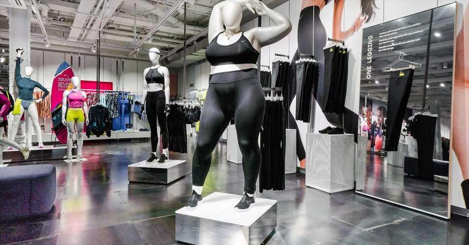 Telegraph's Fatphobic Take On Nike's Plus-Size Mannequins Receives Backlash