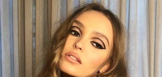 Lily-Rose Depp's Retro Liner Tops the Week's Best Beauty Looks on Instagram