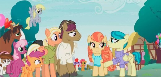 My Little Pony introduces lesbian couple for the first time on family cartoon