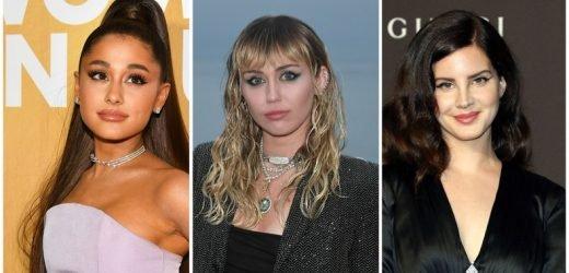Ari, Miley, and Lana Hint at a Collaboration Coming Soon