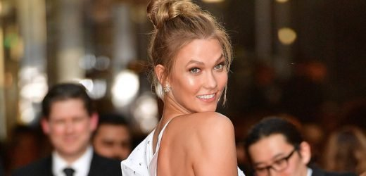 Karlie Kloss Hilariously Shuts Down Pregnancy Rumors with an Emoji that Needs No Explanation
