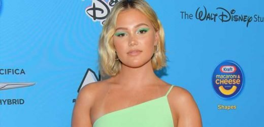 Olivia Holt Rocks Cut Out Dress to ARDYs 2019