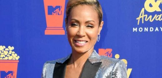 Jada Pinkett Smith Rocks Silver Suit for MTV Movie & TV Awards 2019!