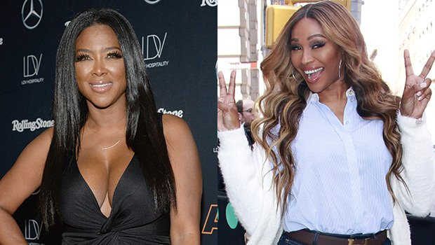 Kenya Moore's Daughter Brooklyn Giggles In Cute Video Shared By 'RHOA' Costar Cynthia Bailey – Watch