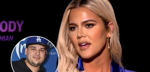 Khloe Kardashian Says Rob is 'Kicking A–' in Kim and Kanye's Home Gym