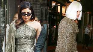 Priyanka Chopra Ditches Long Black Hair For Platinum Blonde Bob In Paris — See Hair Makeover