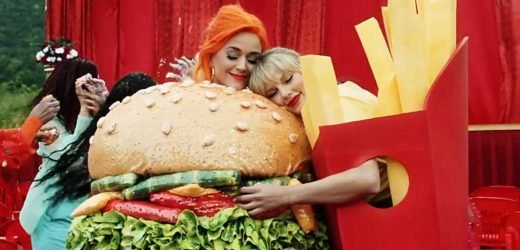 Taylor Swift is the fries to Katy Perry's burger in 'You Need to Calm Down'