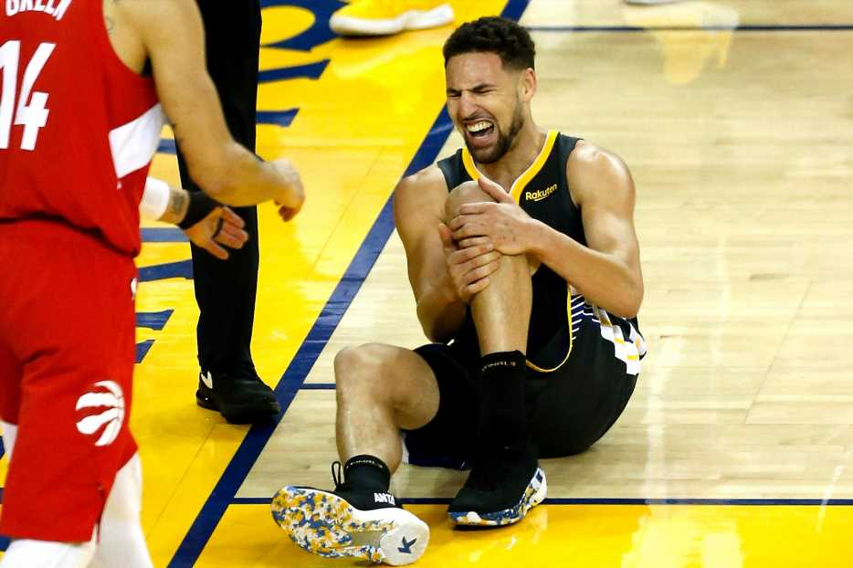 Klay Thompson's stunning words to Steve Kerr after tearing ACL