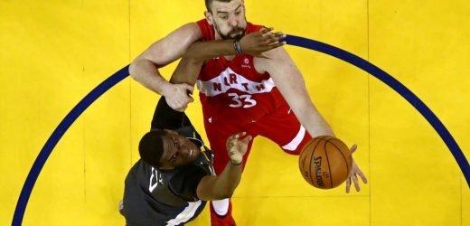 Marc Gasol exercises player option to return to NBA champion Raptors