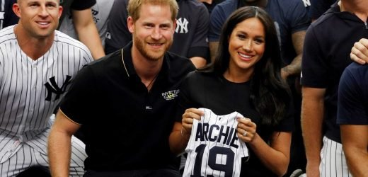 Meghan Markle, Prince Harry visit Yankees, Red Sox before first London game