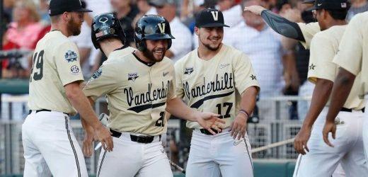 College World Series: Vanderbilt beats Michigan for second national championship